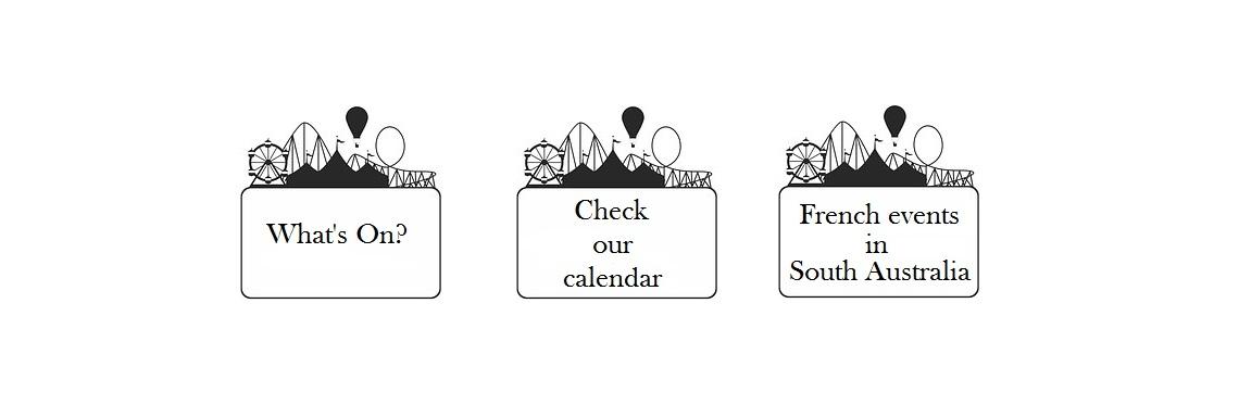 Bonjour Adelaide - Calendar
